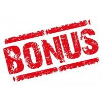 Бонусы за отзывы!